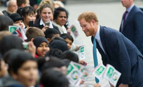 Prince Harry Visits Mildmay Hospital