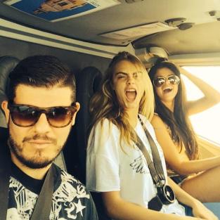 Selena Gomez and Cara Delevingne Photo