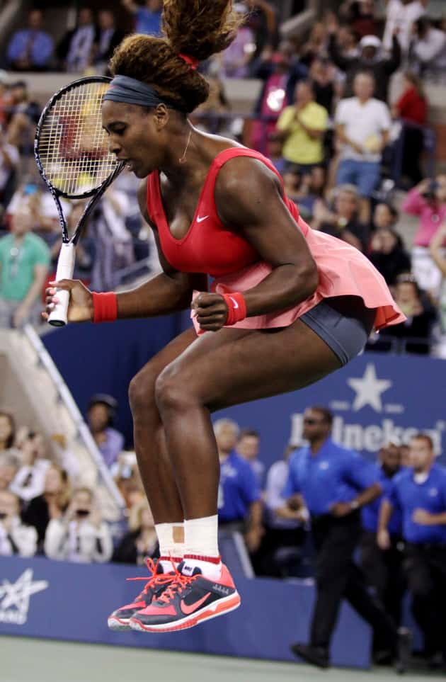 Serena Williams Wins!