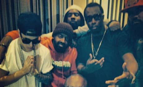 Justin Bieber with Rappers