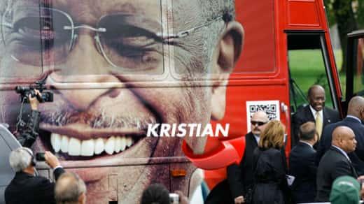 Kris Herzog and Herman Cain