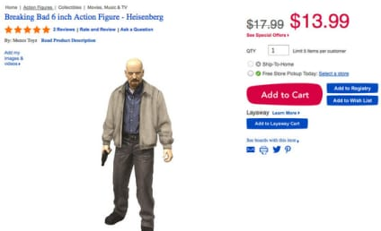 Toys R Us Under Fire for Breaking Bad Action Figure: Read Bryan Cranston's Epic Response!