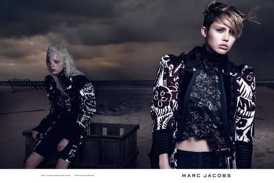 Miley Cyrus Marc Jacobs Photo
