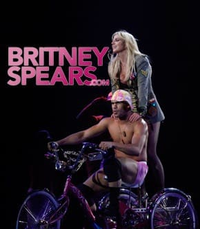 Britney Riding Some Dude