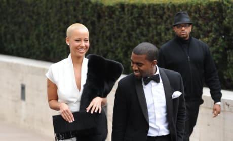 Kanye West, Amber Rose Pic