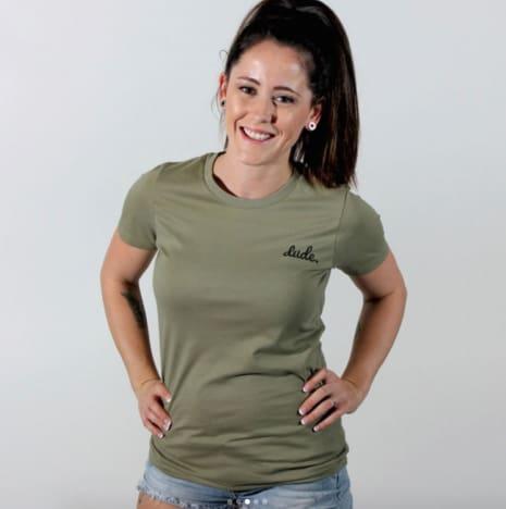 Jenelle Evans Dude Shirt
