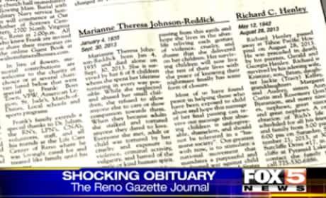 Obituary Slams Late Mother as Abusive, Evil