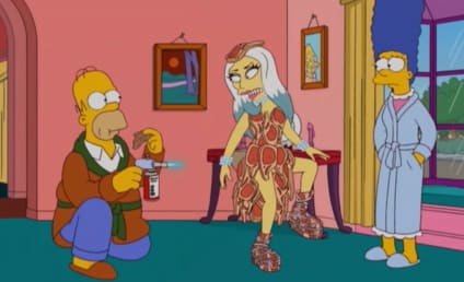 Lady Gaga on The Simpsons: First Look!