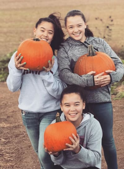With Pumpkins