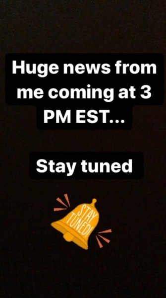 Nicole Nafziger IG hypes up breakup announcement