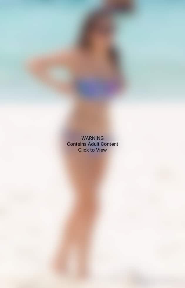 Nina Dobrev Bikini Pic