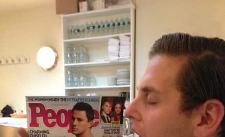 Jonah Hill Licks Channing Tatum
