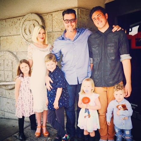 Tori Spelling Benihana Photo