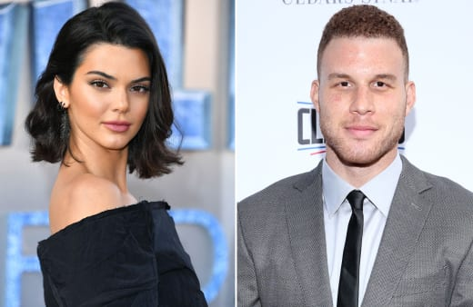 Kendall Jenner and Blake Griffin