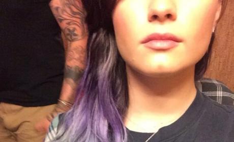Demi Lovato Goes Silver... ish