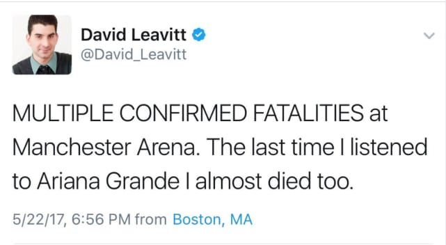 Image result for david leavitt manchester