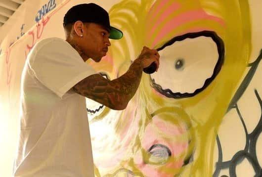 Chris Brown, Graffiti Pic