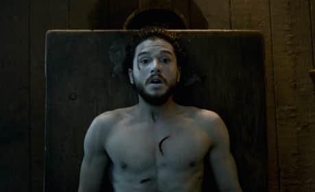 Kit Harington on Jon Snow Resurrection