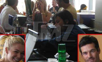 Spotted: Eddie Cibrian and LeAnn Rimes!