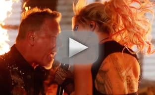 Lady Gaga & Metallica Grammy Performance: Mic Malfunctions, Pyrotechnics & Crowd Surfing!