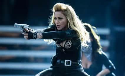 Madonna Pulls Gun at Denver Concert, Some Fans Not Pleased