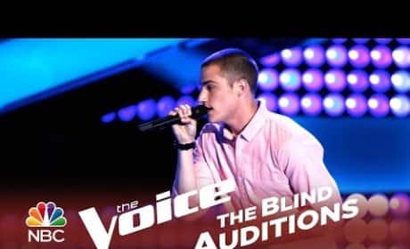 Chris Jamison - Gravity (The Voice Audition)