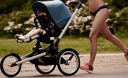 Stroller Ad Features Bikini-Clad Model, Moms P*ssed!