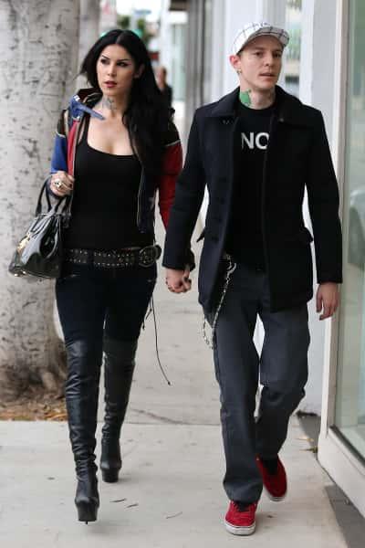 Kat Von D and Deadmau5 Picture
