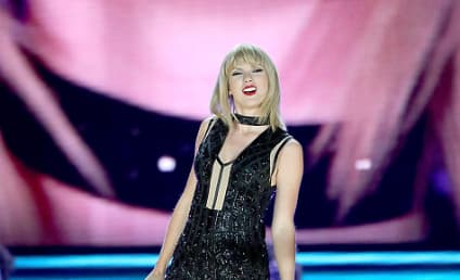 Taylor Swift Returns to the Stage, Performs Calvin Harris Song