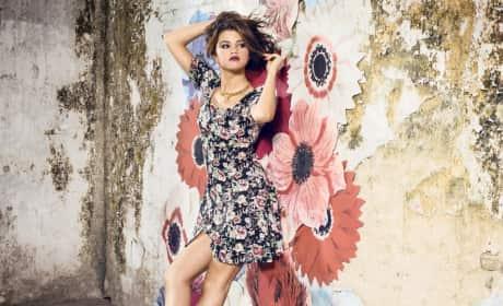Selena Gomez adidas Neo Flower Dress