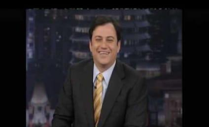 Jimmy Kimmel Repeatedly Slams Jay Leno... on The Jay Leno Show!
