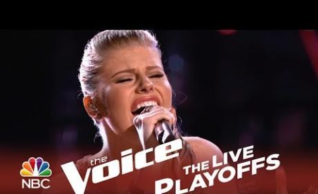 Jessie Pitts - Holding Out for a Hero (The Voice Playoffs)