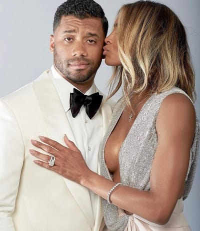 Ciara and Russell Wilson on Instagram