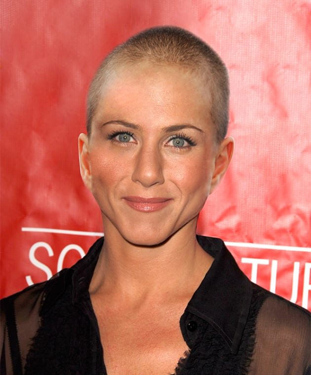 Jennifer Aniston Bald