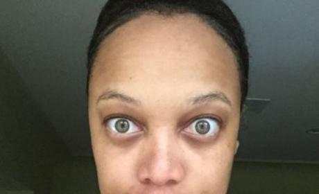 Tyra Banks, No Makeup