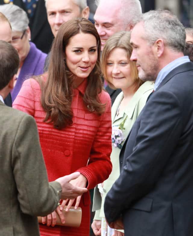 Coy Kate Middleton