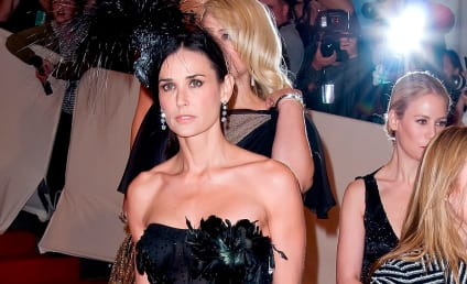 Emma Hemming, Bruce Willis Support Demi Moore