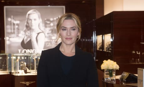 Kate Winslet: Longines Boutique Opening in London