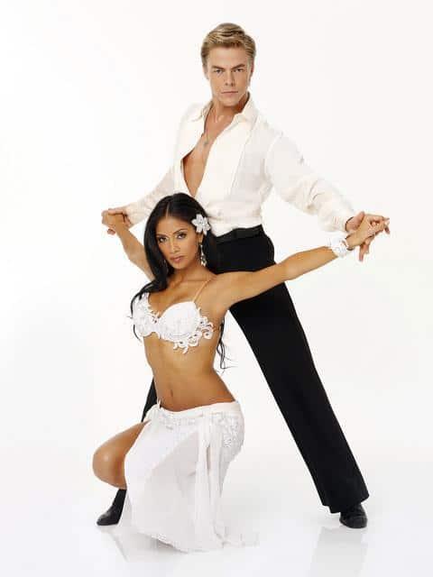 Nicole Scherzinger and Derek Hough