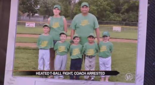 T-Ball Arrest