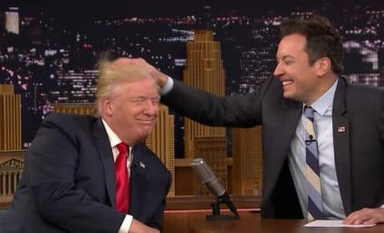 Jimmy Fallon: SLAMMED for Donald Trump Hair Tussle