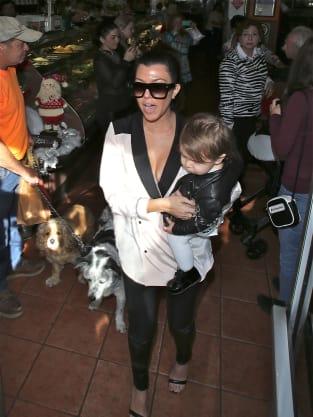 Kourtney Kardashian & Penelope