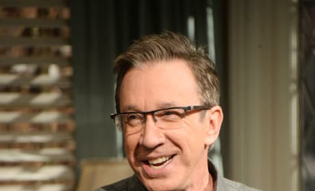 Tim Allen on Last Man Standing Set