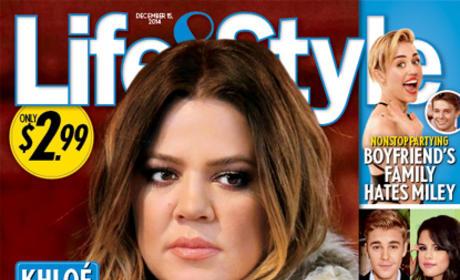Khloe Kardashian Life & Style Cover