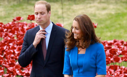 "Prince William Disses Kate Middleton, ""Nightmare Hair"""