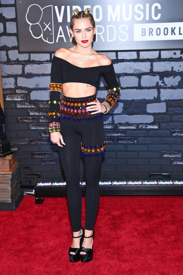 Miley Cyrus at the Video Music Awards