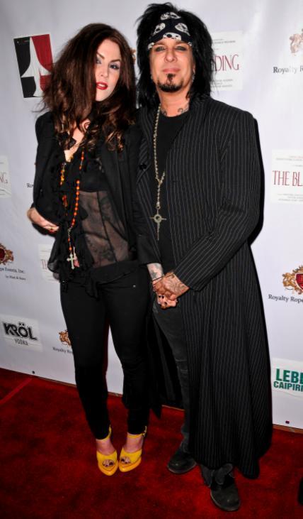 Kat Von D and Nikki Sixx Pic