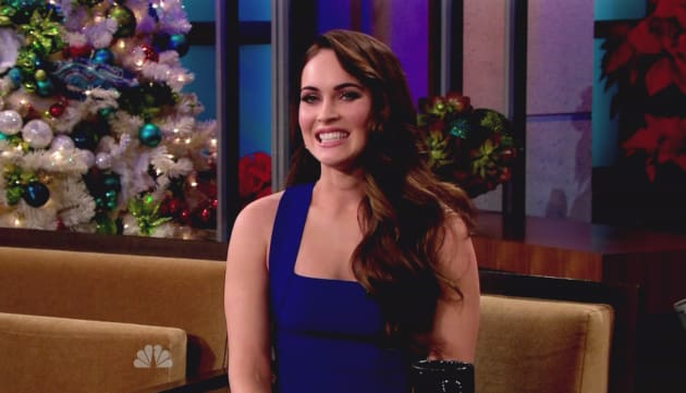 Megan Fox on The Tonight Show