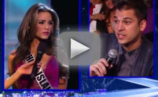 Rob Kardashian Poses Transgender Question at Miss USA Pageant