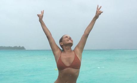 Yolanda Foster in a Bikini